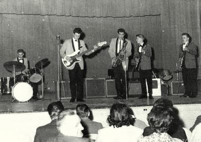 ZEPHYRS 1ST ROCK BAND PHS 1963